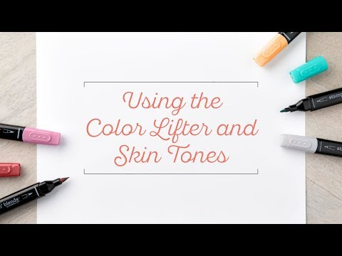 Stampin' Blends: Color Lifter and Skin Tones