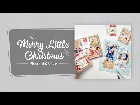 Merry Little Christmas Memories & More Card Pack