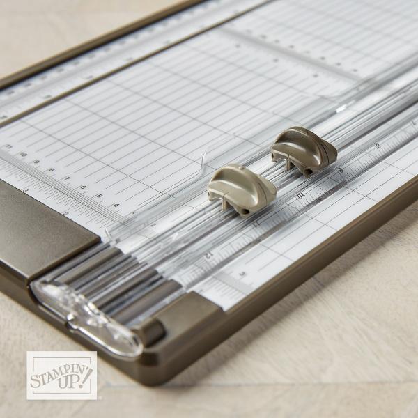 Papierschneider von Stampin Up Anleitung zum Klingen wechseln