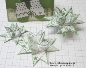 Fröbelsterne mit Papierschneider