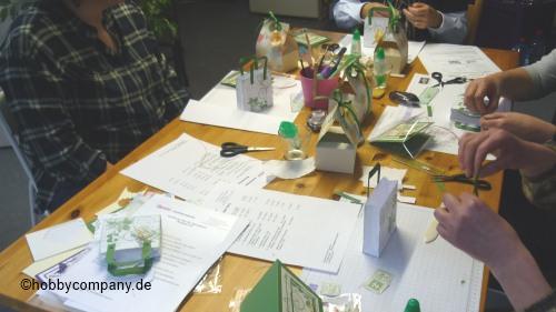 Bastel-Workshop in Quickborn mit der Hobbycompany