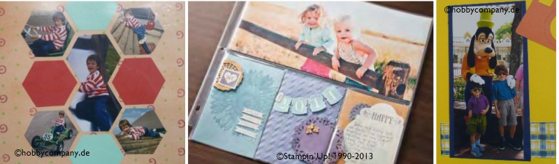 Scrapbook-Workshop mit Stampin up