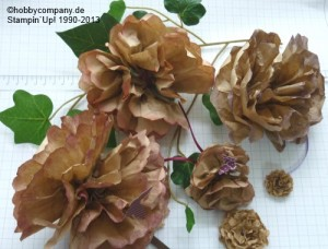 Basteltipp Papierblüten