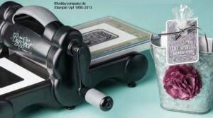 Magnetplatte für die Big Shot von STampin up