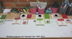 Stempelparty bei der Hobbycompany in Quickborn