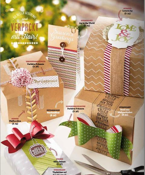 große Geschenkboxen von Stampin`Up!