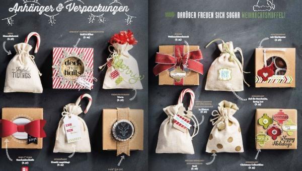 Geschenkboxen mit Sichtfenster von Stampin`Up!