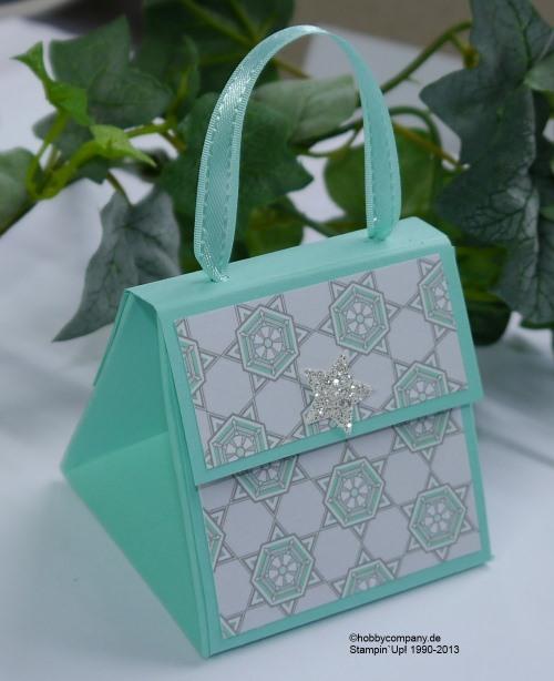 Tasche als kleine Geschenkverpackung
