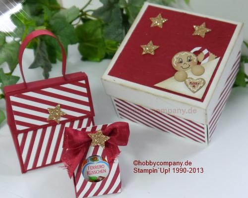 verpackungen f r die weihnachtszeit basteln mit papier und stampin up. Black Bedroom Furniture Sets. Home Design Ideas