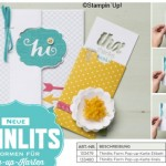 Pop-up Karte mit Thinlits von Stampin up