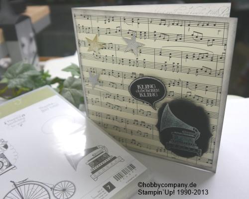 CD Verpackung mit Stempelset Timless Talk