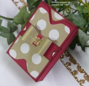 Teebeutelverpackung mit dem Stanz-Und Falzbrett von Stampin Up