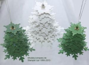 Weihnachtsbaum mit dem Produktpaket Festive Flurry