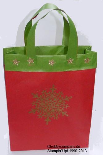 Weihnachtstüte schnell und einfach selbstgemacht