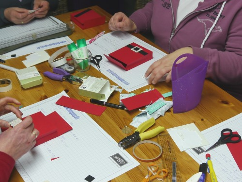 im Workshop bei der Hobbycompany Quickborn