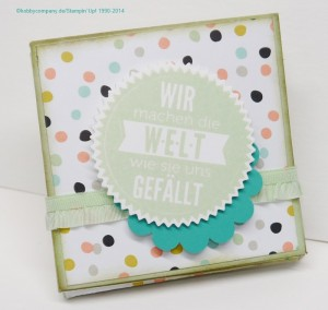 Mini-Album im Workshop