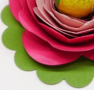 Osterdeko mit der Spiralblume von Stampin`Up!