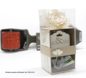 Geschenkschachtel schnelle Überraschung zur Hochzeit