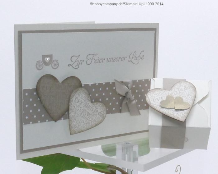 hochzeitskarten selbstgemacht basteln mit papier und stampin up. Black Bedroom Furniture Sets. Home Design Ideas