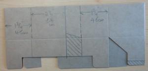 Maße für kleine Verpackung
