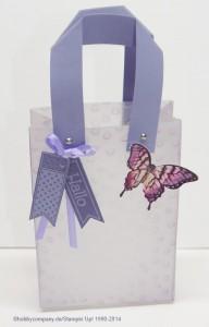 Geschenkverpackung Tüte aus Pergament
