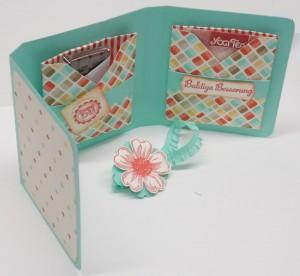Anleitung für eine Tee-und Keksverpackung