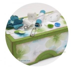 Nähkästchen Geschenkverpackung