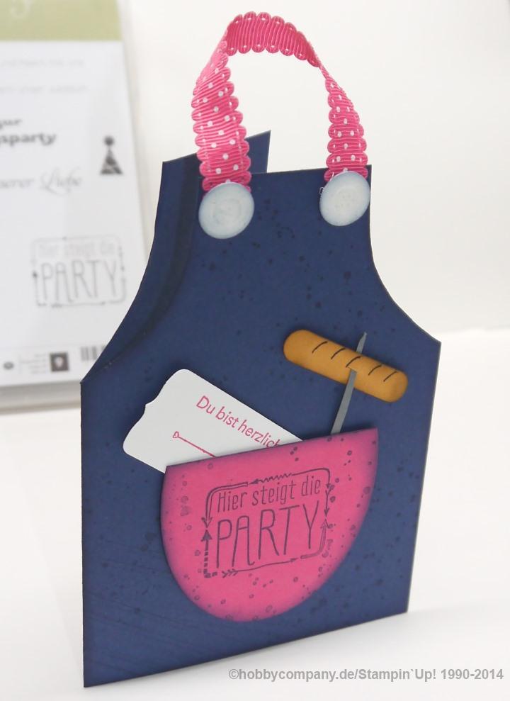 Einladungskarte aus dem Workshop Grillparty - Basteltipps ...