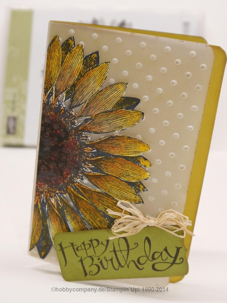 Stempel Sunflower-Sonnenblume von Stampin Up