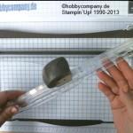 Papierschneider von Stampin Up-Anleitung Klingen wechseln