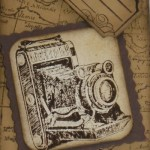 Traveler – ein nostalgisches Stempelset