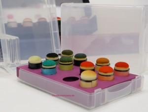 Anleitung - eine Box für Fingerschwämmchen oder Dauber-Spongs