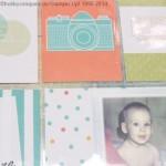 Erste Scrapbookseiten mit Project Life