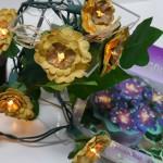 Lichterkette-Sonnenblumen