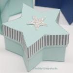 Geschenkschachtel mit den Framelits Sternenkollektion