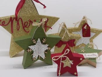 Geschenkverpackung Stern, aus dem Produktpaket Sternstunde