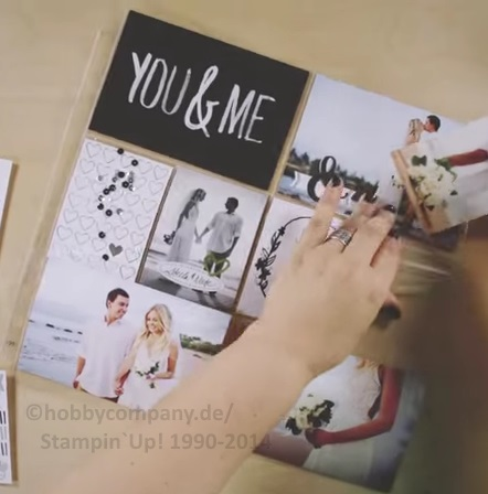 ein hochzeitsalbum mit project life von stampin up basteltipps und anleitungen von stampin up. Black Bedroom Furniture Sets. Home Design Ideas