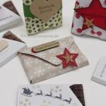 Geschenkverpackung für Mini-Schokoladen