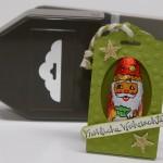 Nikolaus-Verpackung im Adventskalender