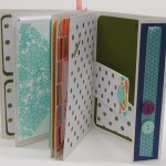 Mini-Scrapbook im Workshop