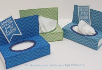 Anleitung Geschenkverpackung Taschentücherbox