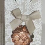 Geschenkidee mit Stanzen und Designerpapier von Stampin Up
