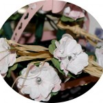 Stempelset Flower Shop mit einer Lichterkette