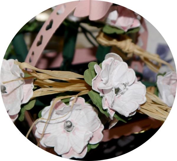 Stempelset Flower Shop von Stampin Up mit Lichterketten