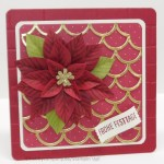 Thinlits Muschelmeer mit Weihnachtsstern