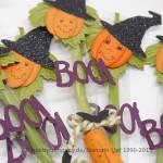 Halloween Hexenbesen Anleitung