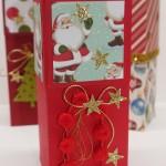 Geschenkverpackung, Faltbox mit Zauberverschluss