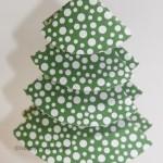 Origami Tannenbaum auch zum Basteln mit Kindern