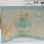 Pop-up Karten, neue Ideen mit den Thinlits 3-D Party