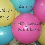 Katalogparty bei der Hobbycompany in Quickborn